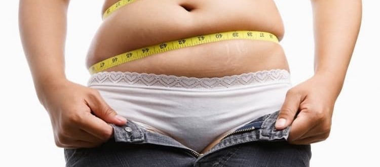 Большой живот у женщин