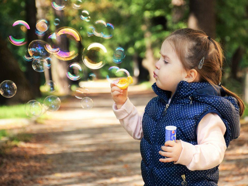 как делать мыльные пузыри