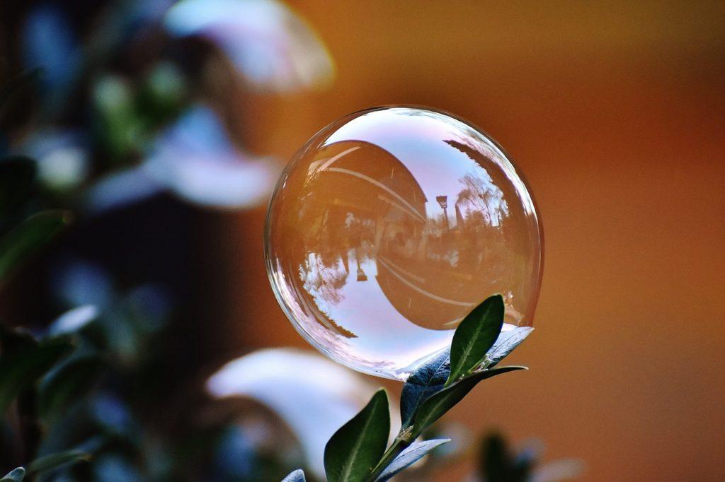 как делать мыльные пузыри дома