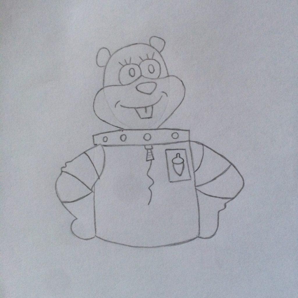 логотип на костюме
