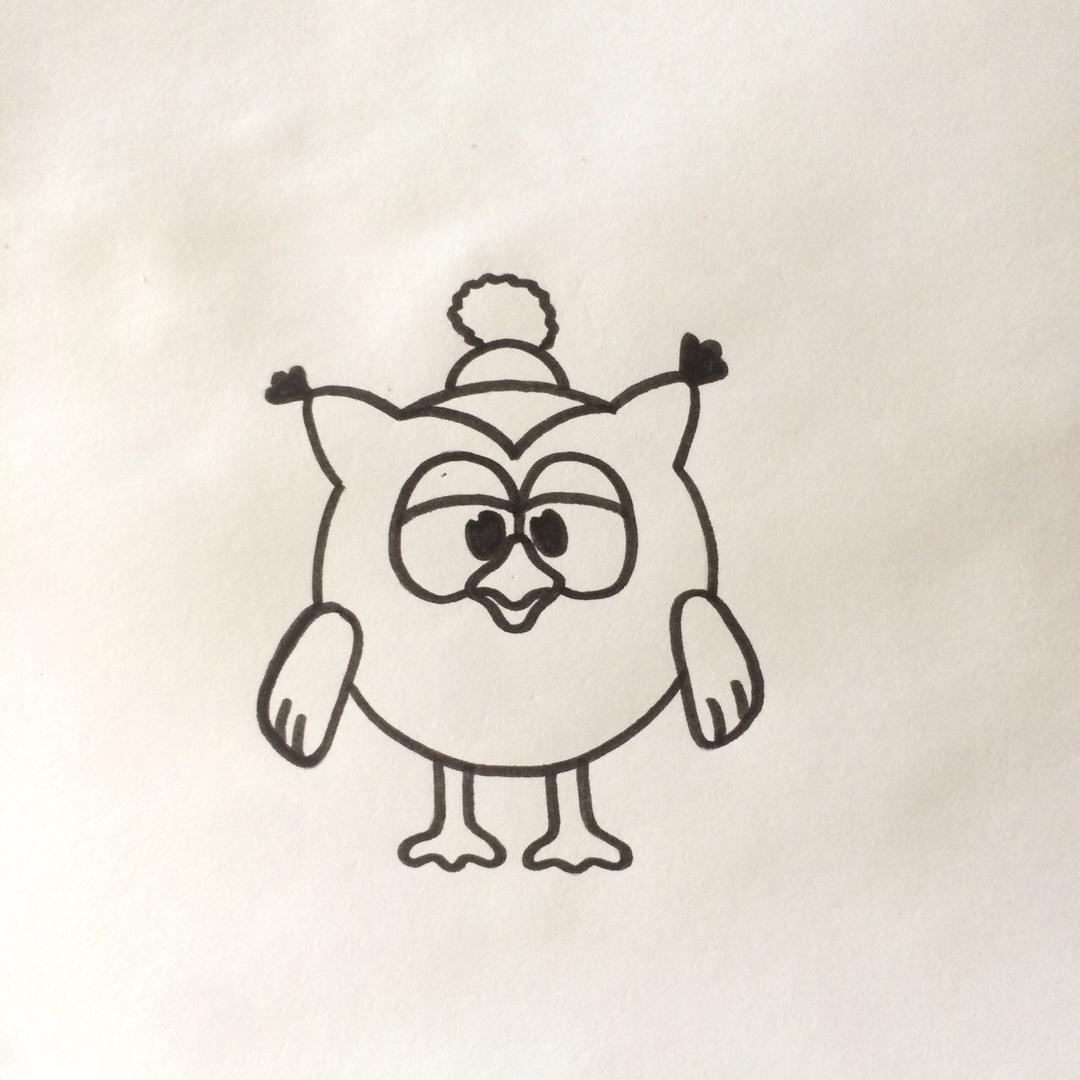 Легкие рисунки смешариков для срисовки