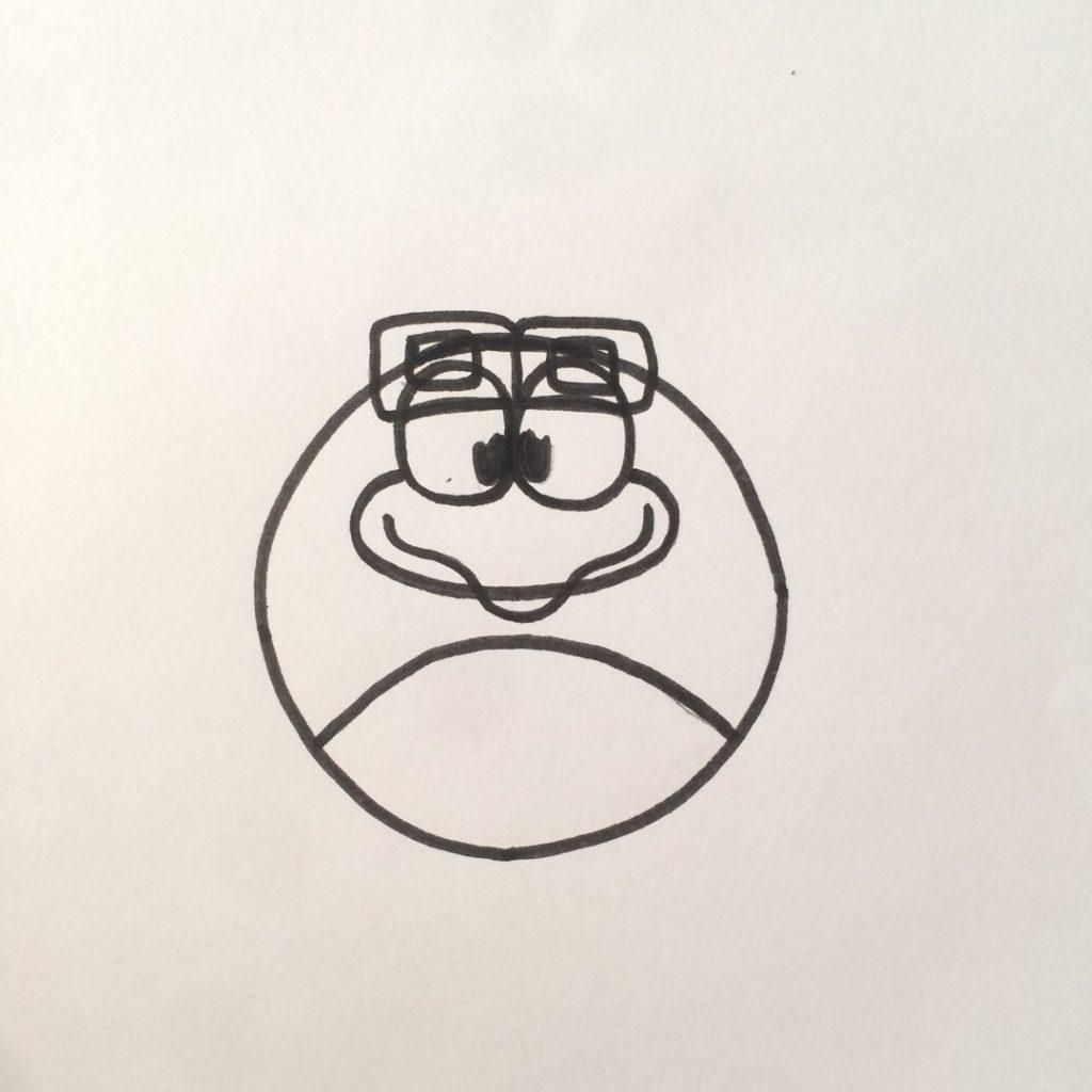 рисуем очки