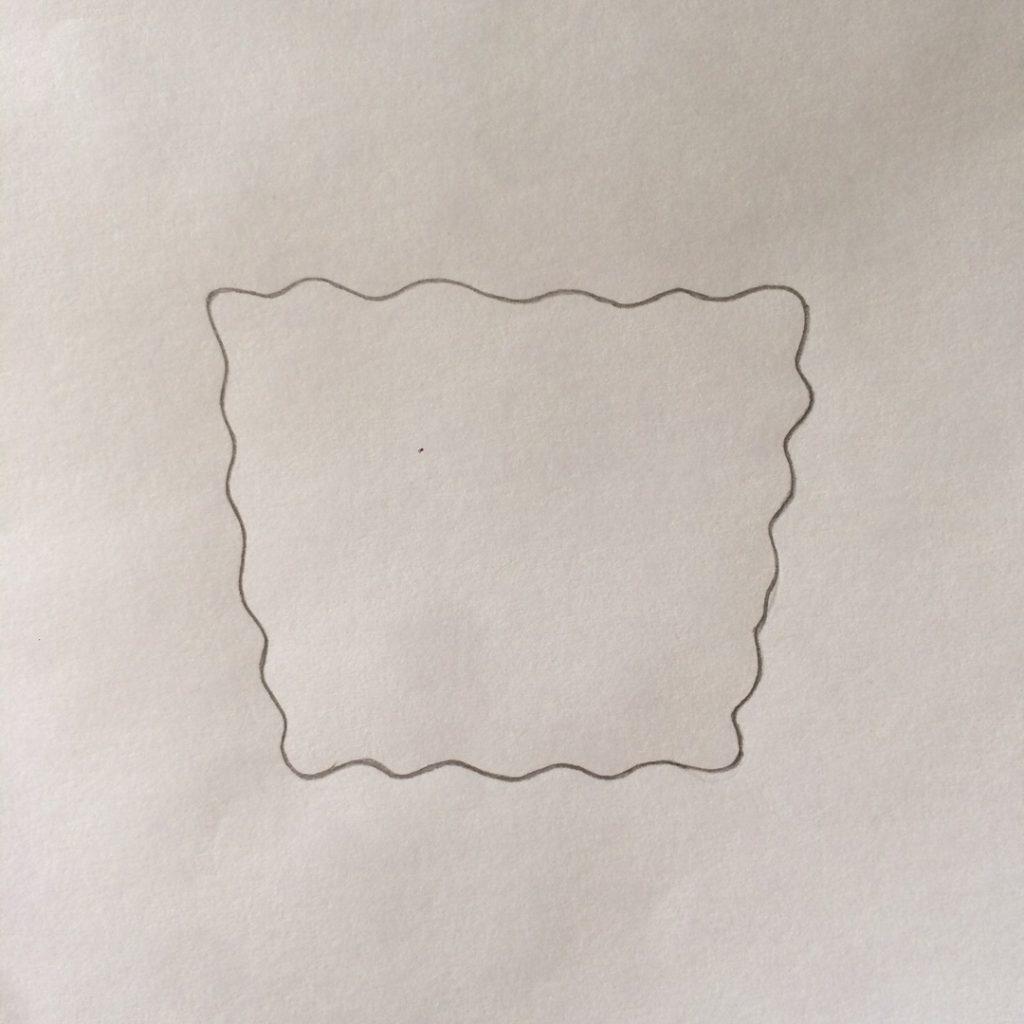 рисуем волнистый квадрат