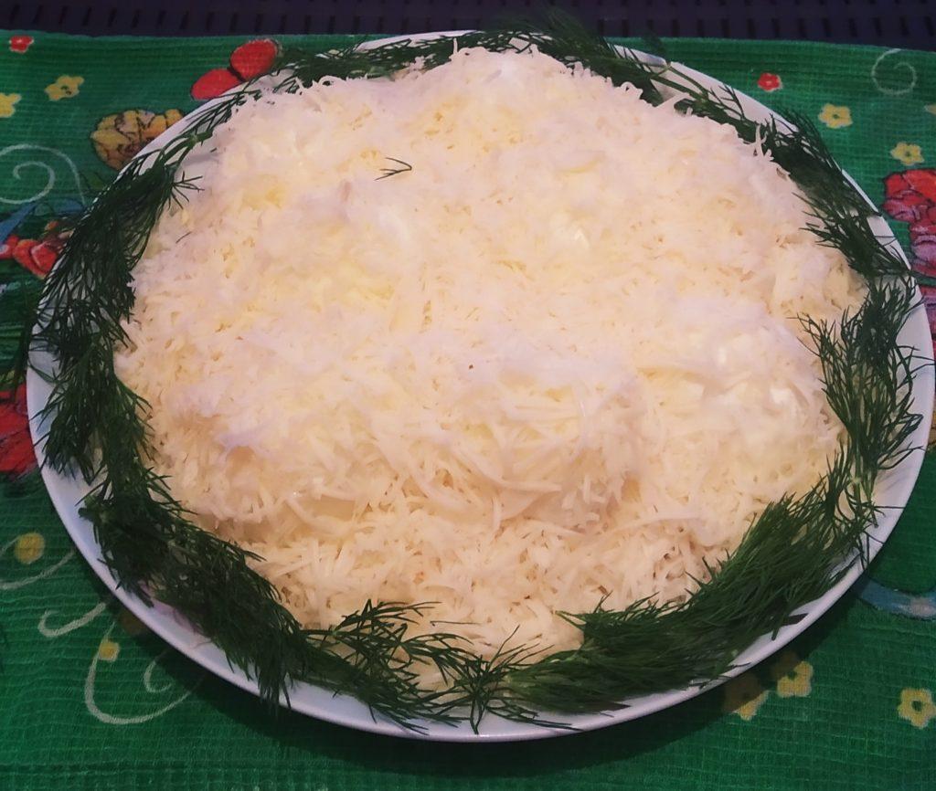 сугроб салат