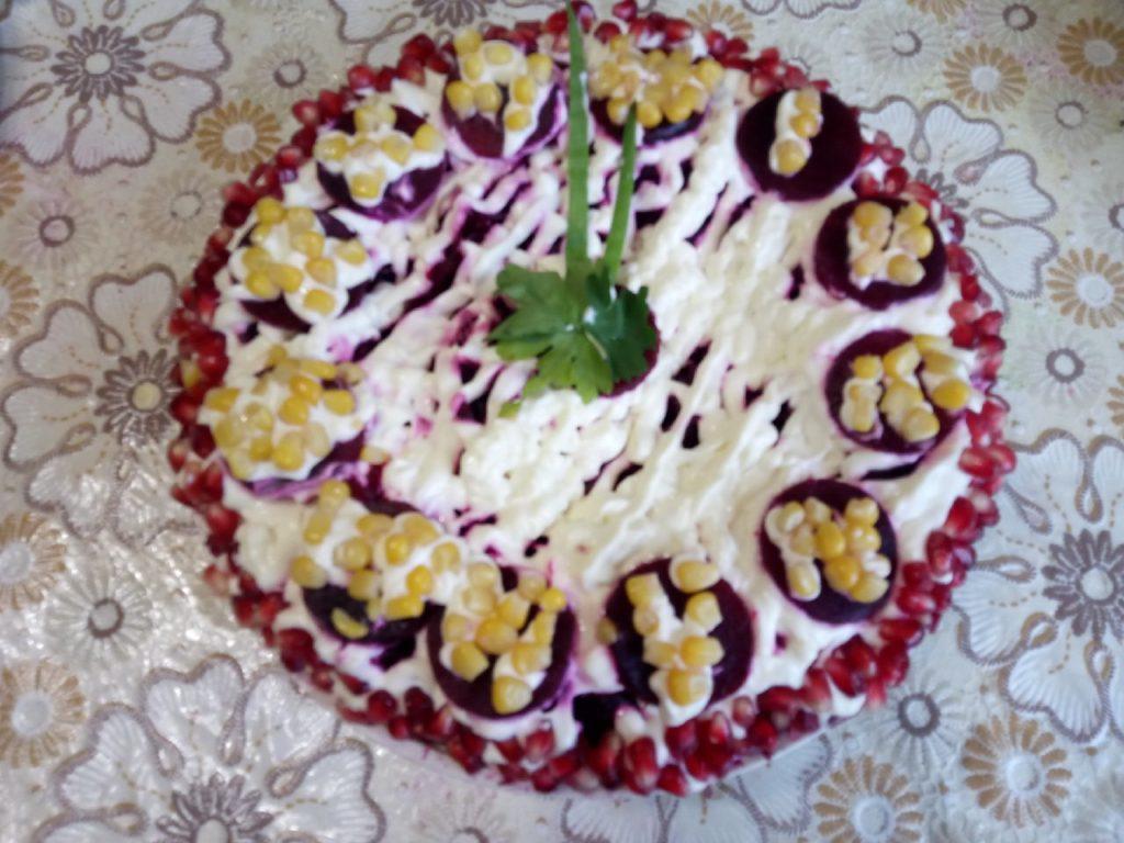 шуба салат