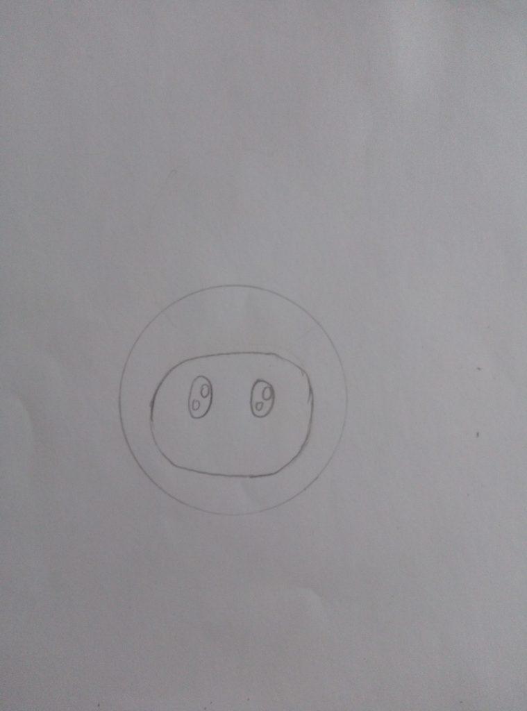 как нарисовать малышариков карандашом поэтапно