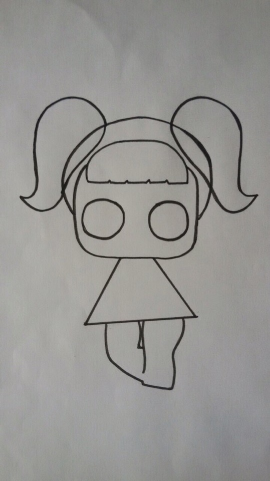 нарисовать куклу