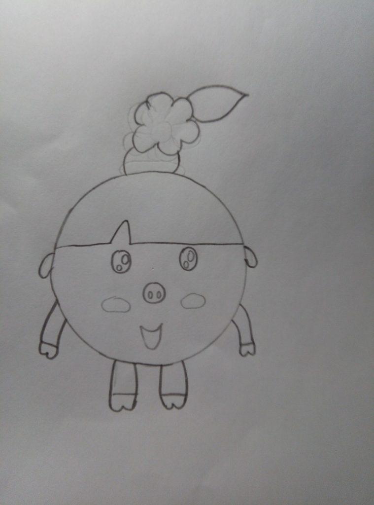 рисуем малышариков