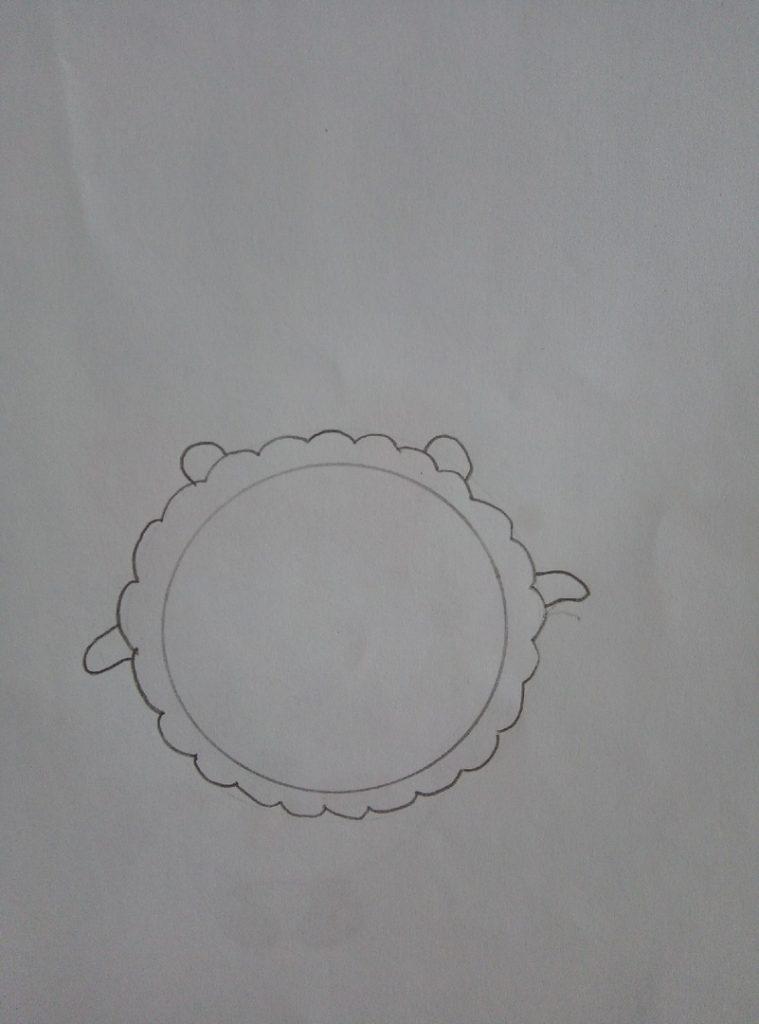 как рисовать малышариков