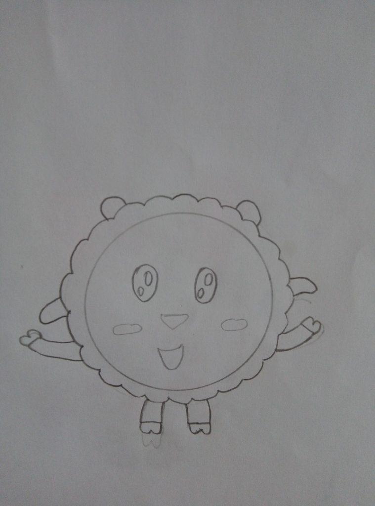 рисуем малышариков поэтапно для детей