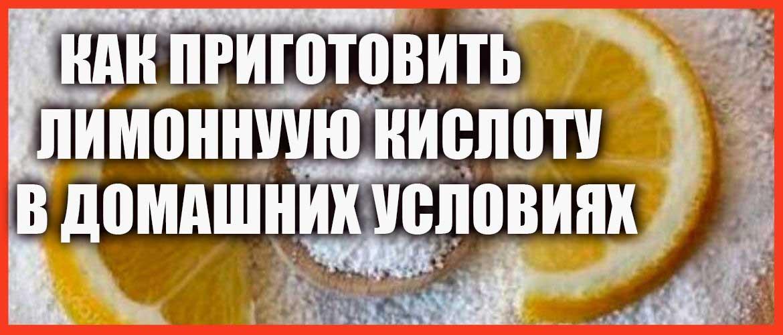Лимонная кислота: приготовление в домашних условиях, применение в кулинарии и в быту