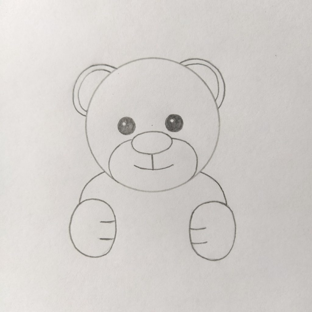 медвежонок рисунок