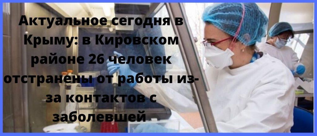 актуальное 27 апреля в Крыму
