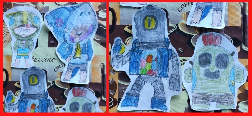 рисунки brawl stars от Марика