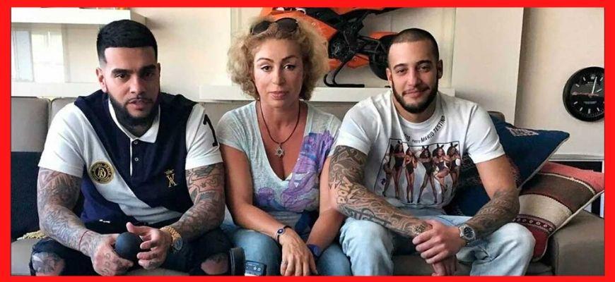 тимати с мамой и братом